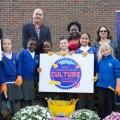Fantastic Uses Flowerpower to Help Launch Greenwich Culture Bid