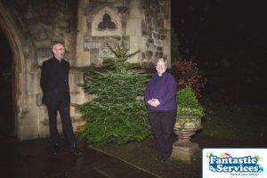Royal trinity hospice christmas tree delivery service 2