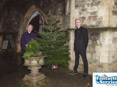 Royal trinity hospice christmas tree delivery service 3