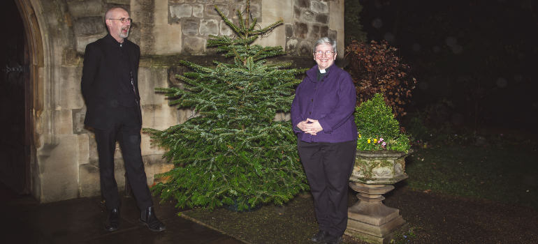 royal trinity hospice christmas tree by fantastic services