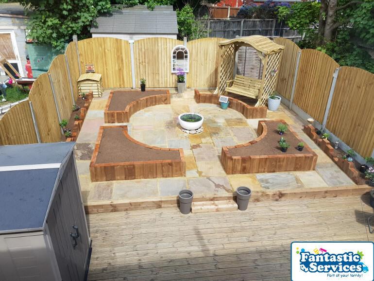 Landscaping job Fantastic Gardeners 2