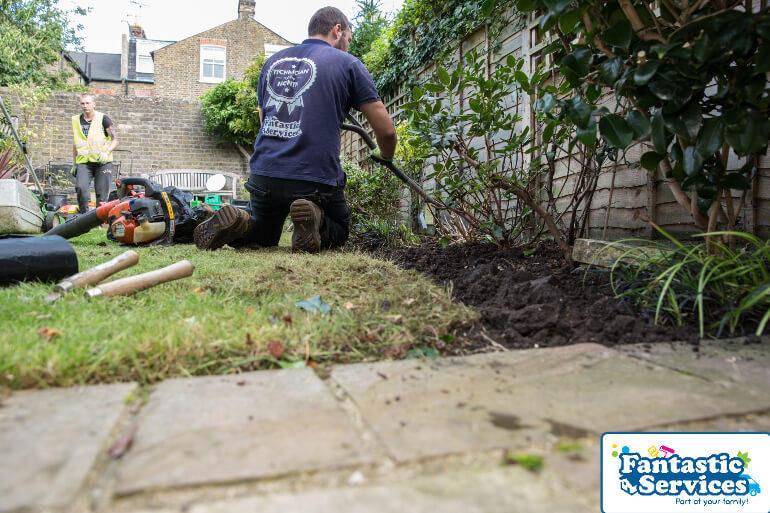 Landscaping job Fantastic Gardeners 6