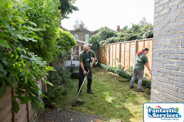 Landscaping job Fantastic Gardeners 9