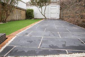 final result of garden transformation in croydon sw4