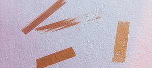 sellotape marks on wall