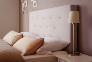 Cleaning fabric bed headboards