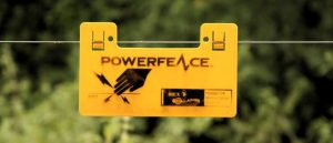 yellow electric fence