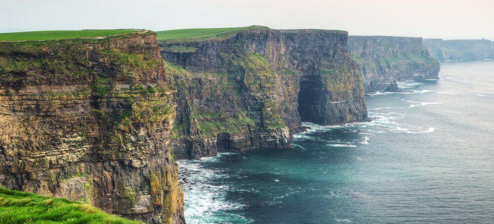Cliffs on Irish Coast