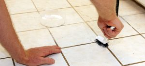Cleaning Tille Grout