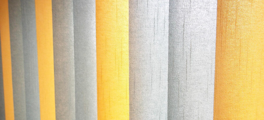 colourful fabric vertical blinds