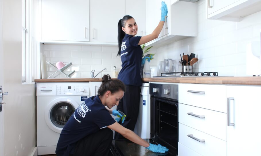 Fully-trained and experienced cleaners