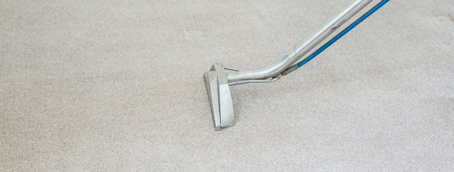 Hot water extraction carpet cleaning method