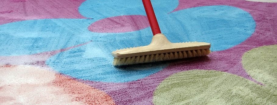 The old-school carpet cleaning method