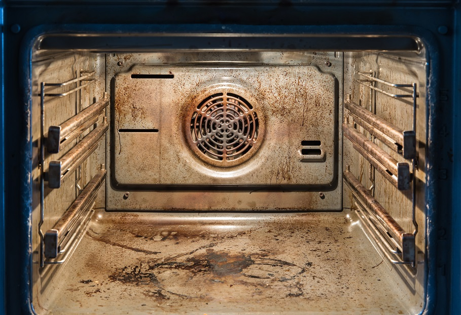 wat can cause an oven grease fire
