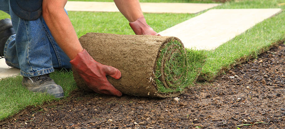can you lay turf on sand