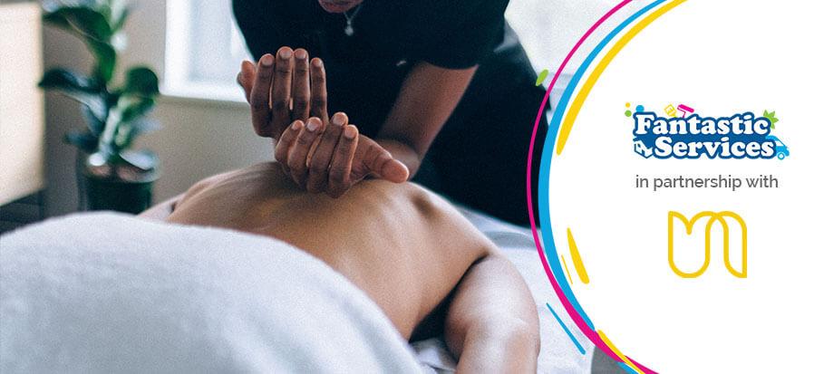 Fantastic partnership with urban massage