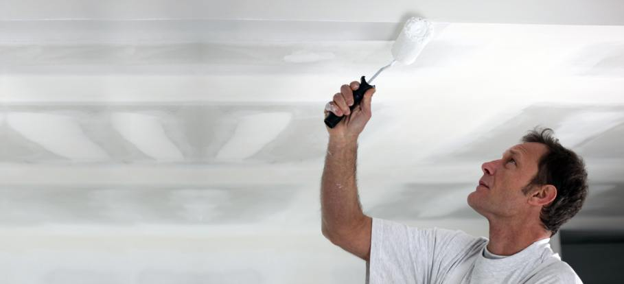 The Ultimate Guide To Painting A Newly Plastered Ceiling