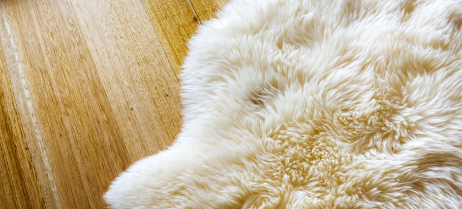 Everything you need to know about maintaining a sheepskin rug