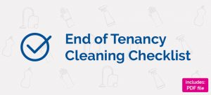Cleaning at the end of tenancy banner