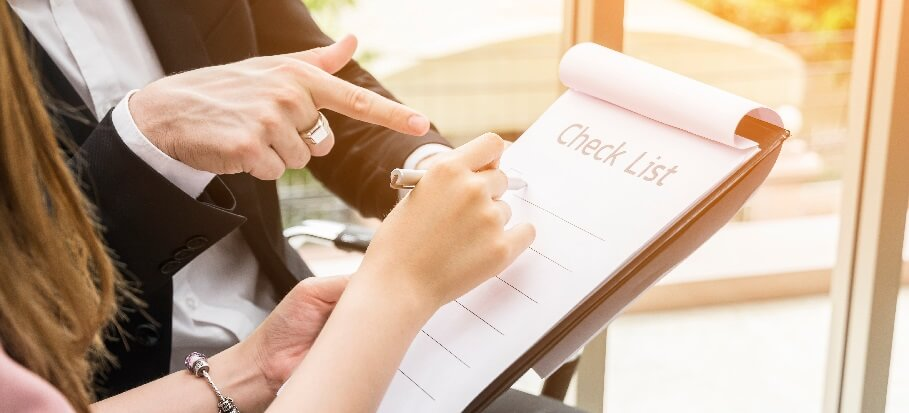 End of tenancy checklist for landlords