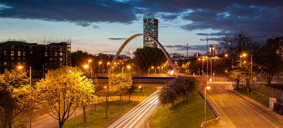 Hulme Arch Bridge, Manchester