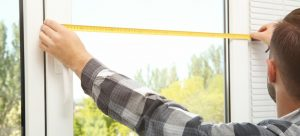 How to take measurements for window blinds