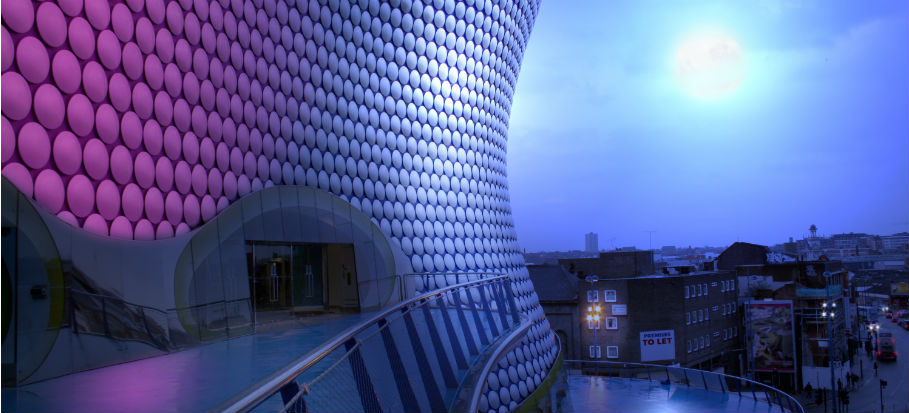 The Bullring at night