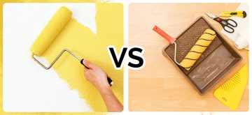 paint or wallpaper - roller and tools