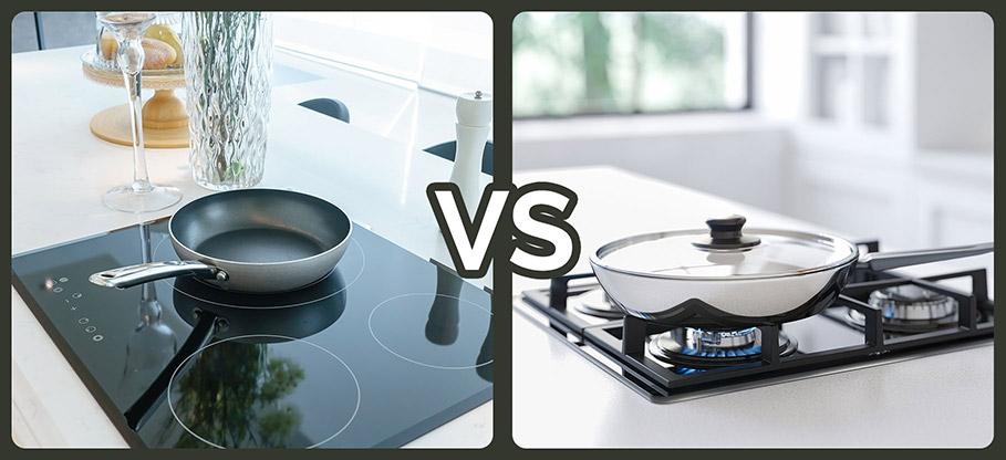 induction hobs versus gas hobs