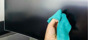 How to Remove TV Screen Fingerprints