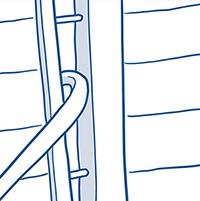 drawing of crowbar