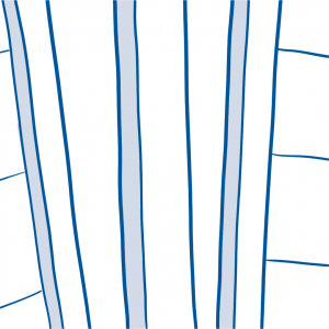 drawing of fence