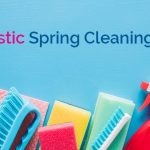 cleaning supplies - spring cleaning checklist