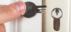 key broken inside lock