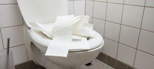 toilet keeps clogging