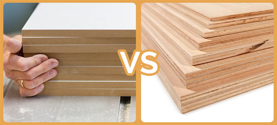 mdf or plywood