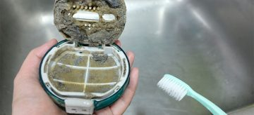 cleaning a washing machine filter