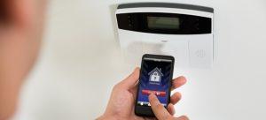 testing burglar alarm