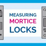 Mortice deadlock and sash lock measurements