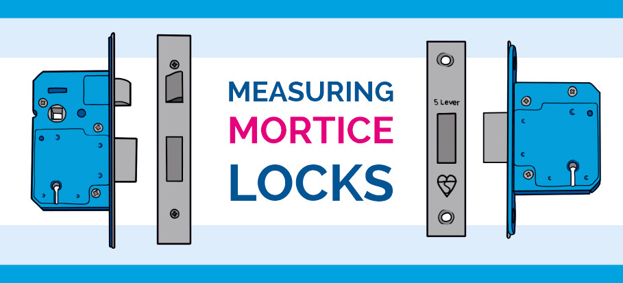 Mortice deadlock and sash lock measurements