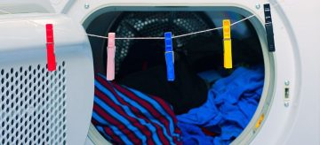 how to clean tumble dryer
