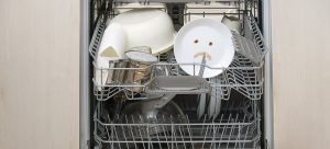 dishwasher not washing