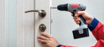 fitting door lock