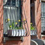 windows with metal bars