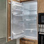how to install integrated fridge freezer