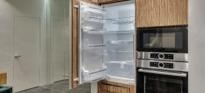 how to install integrated fridge freezer
