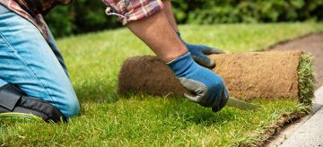 how to lay turf