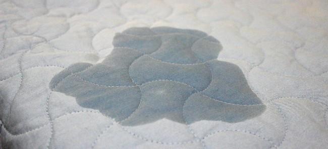 pee stain on mattress